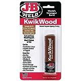 J-B Weld 8257 KwikWood Wood Repair Epoxy Putty Stick - 1 oz.