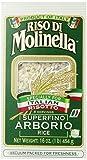 Molinella Italian Arborio Rice, 1-Pound Boxes (Pack of 6)