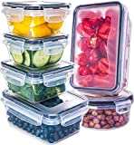 Fullstar Airtight Food Storage Containers with Lids - Plastic Food Containers with Lids - Plastic Containers with Lids - Lunch Containers Kitchen Storage Containers with Lids BPA-Free Food Container