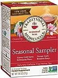 Traditional Medicinals Organic Seasonal Tea Sampler Variety Pack, 16 Tea Bags (Pack of 1)